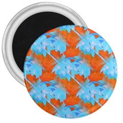 Coconut Palm Trees Tropical Dawn 3  Magnets by CrypticFragmentsColors