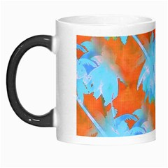Coconut Palm Trees Tropical Dawn Morph Mugs by CrypticFragmentsColors