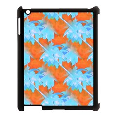 Coconut Palm Trees Tropical Dawn Apple Ipad 3/4 Case (black) by CrypticFragmentsColors