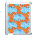 Coconut Palm Trees Tropical Dawn Apple iPad 3/4 Case (White) Front