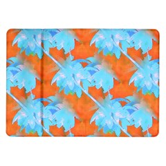 Coconut Palm Trees Tropical Dawn Samsung Galaxy Tab 10 1  P7500 Flip Case by CrypticFragmentsColors
