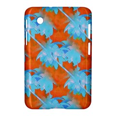 Coconut Palm Trees Tropical Dawn Samsung Galaxy Tab 2 (7 ) P3100 Hardshell Case  by CrypticFragmentsColors