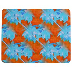 Coconut Palm Trees Tropical Dawn Jigsaw Puzzle Photo Stand (rectangular) by CrypticFragmentsColors