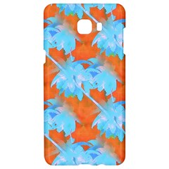 Coconut Palm Trees Tropical Dawn Samsung C9 Pro Hardshell Case  by CrypticFragmentsColors