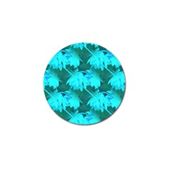 Coconut Palm Trees Caribbean Sea Golf Ball Marker (4 Pack) by CrypticFragmentsColors