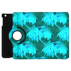 Coconut Palm Trees Caribbean Sea Apple Ipad Mini Flip 360 Case by CrypticFragmentsColors