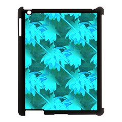 Coconut Palm Trees Caribbean Sea Apple Ipad 3/4 Case (black) by CrypticFragmentsColors