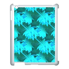 Coconut Palm Trees Caribbean Sea Apple Ipad 3/4 Case (white) by CrypticFragmentsColors