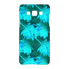 Coconut Palm Trees Caribbean Sea Samsung Galaxy A5 Hardshell Case  by CrypticFragmentsColors