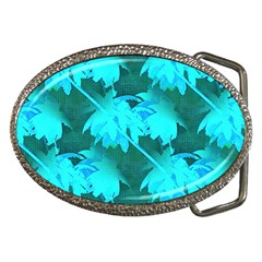 Coconut Palm Trees Caribbean Sea Belt Buckles by CrypticFragmentsColors