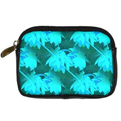 Coconut Palm Trees Caribbean Sea Digital Camera Cases by CrypticFragmentsColors