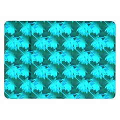 Coconut Palm Trees Blue Green Sea Small Print Samsung Galaxy Tab 8 9  P7300 Flip Case by CrypticFragmentsColors