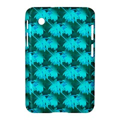 Coconut Palm Trees Blue Green Sea Small Print Samsung Galaxy Tab 2 (7 ) P3100 Hardshell Case  by CrypticFragmentsColors