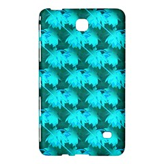 Coconut Palm Trees Blue Green Sea Small Print Samsung Galaxy Tab 4 (7 ) Hardshell Case  by CrypticFragmentsColors