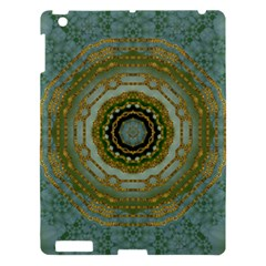 Modern Fantasy Rococo Flower And Lilies Apple Ipad 3/4 Hardshell Case by pepitasart