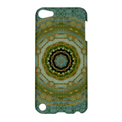 Modern Fantasy Rococo Flower And Lilies Apple Ipod Touch 5 Hardshell Case by pepitasart