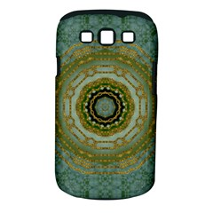 Modern Fantasy Rococo Flower And Lilies Samsung Galaxy S Iii Classic Hardshell Case (pc+silicone) by pepitasart