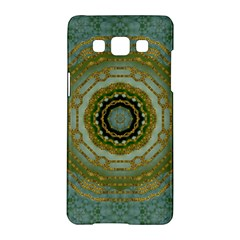 Modern Fantasy Rococo Flower And Lilies Samsung Galaxy A5 Hardshell Case  by pepitasart