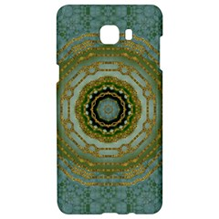 Modern Fantasy Rococo Flower And Lilies Samsung C9 Pro Hardshell Case  by pepitasart