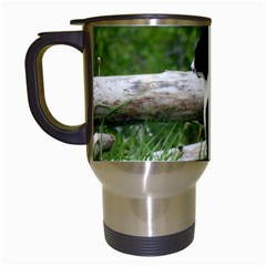 Farm Cat Travel Mugs (white) by IIPhotographyAndDesigns