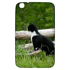 Farm Cat Samsung Galaxy Tab 3 (8 ) T3100 Hardshell Case  by IIPhotographyAndDesigns