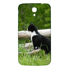 Farm Cat Samsung Galaxy Mega I9200 Hardshell Back Case by IIPhotographyAndDesigns
