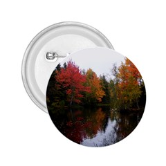Autumn Pond 2 25  Buttons by IIPhotographyAndDesigns