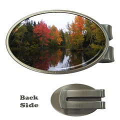 Autumn Pond Money Clips (oval)  by IIPhotographyAndDesigns