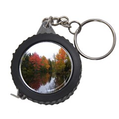 Autumn Pond Measuring Tape by IIPhotographyAndDesigns