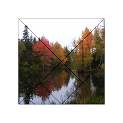 Autumn Pond Acrylic Tangram Puzzle (4  X 4 ) by IIPhotographyAndDesigns