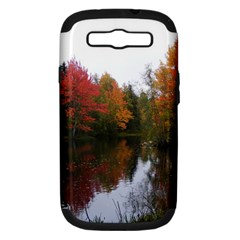 Autumn Pond Samsung Galaxy S Iii Hardshell Case (pc+silicone) by IIPhotographyAndDesigns