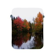 Autumn Pond Apple Ipad 2/3/4 Protective Soft Cases by IIPhotographyAndDesigns