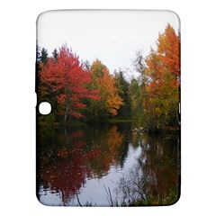 Autumn Pond Samsung Galaxy Tab 3 (10 1 ) P5200 Hardshell Case  by IIPhotographyAndDesigns