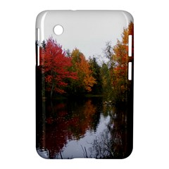 Autumn Pond Samsung Galaxy Tab 2 (7 ) P3100 Hardshell Case  by IIPhotographyAndDesigns