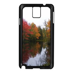Autumn Pond Samsung Galaxy Note 3 N9005 Case (black) by IIPhotographyAndDesigns
