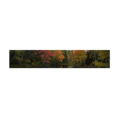Autumn Pond Flano Scarf (mini) by IIPhotographyAndDesigns
