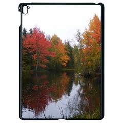 Autumn Pond Apple Ipad Pro 9 7   Black Seamless Case by IIPhotographyAndDesigns