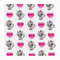 Evil Sweetheart Kitty Medium Glasses Cloth (2 Side) by IIPhotographyAndDesigns