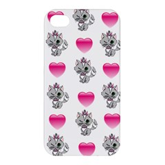 Evil Sweetheart Kitty Apple Iphone 4/4s Premium Hardshell Case by IIPhotographyAndDesigns