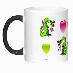 Dragons And Hearts Morph Mugs by IIPhotographyAndDesigns