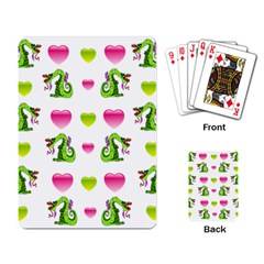 Dragons And Hearts Playing Card by IIPhotographyAndDesigns