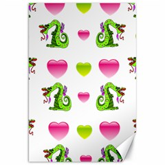 Dragons And Hearts Canvas 20  X 30   by IIPhotographyAndDesigns