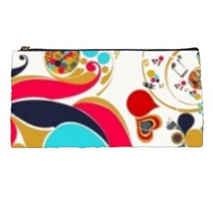Retro Colorful Colors Splashes Pencil Cases by flipstylezdes