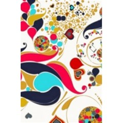 Retro Colorful Colors Splashes 5 5  X 8 5  Notebooks by flipstylezdes