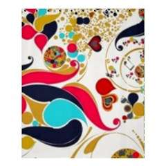 Retro Colorful Colors Splashes Shower Curtain 60  X 72  (medium)  by flipstylezdes