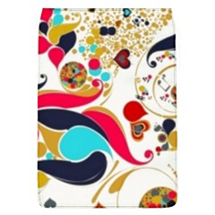 Retro Colorful Colors Splashes Flap Covers (l)  by flipstylezdes