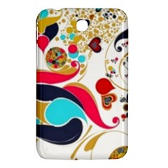 Retro Colorful Colors Splashes Samsung Galaxy Tab 3 (7 ) P3200 Hardshell Case  by flipstylezdes