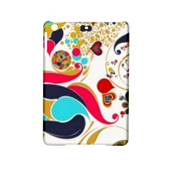 Retro Colorful Colors Splashes Ipad Mini 2 Hardshell Cases by flipstylezdes