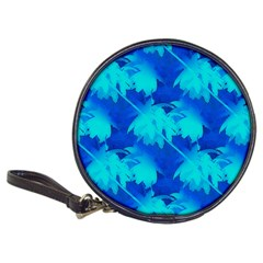 Coconut Palm Trees Ocean Blue Classic 20 Cd Wallet by CrypticFragmentsColors