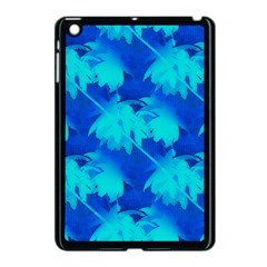 Coconut Palm Trees Ocean Blue Apple Ipad Mini Case (black) by CrypticFragmentsColors